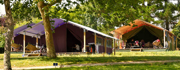 tente camping 2 places